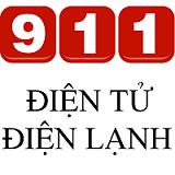 logo dien tu dien lanh 911 - nho