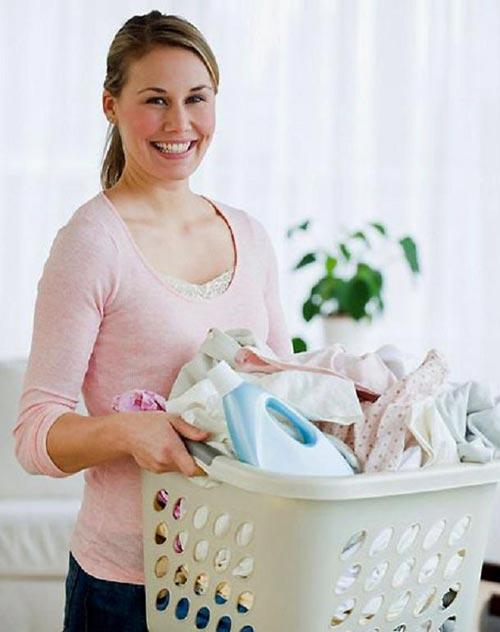 Mẹo giặt quần áo